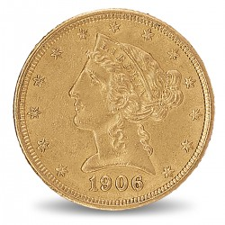 5 Dollars Liberty