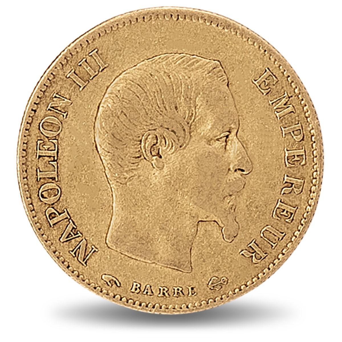 Pièces d'or / 10 Francs Napoléon