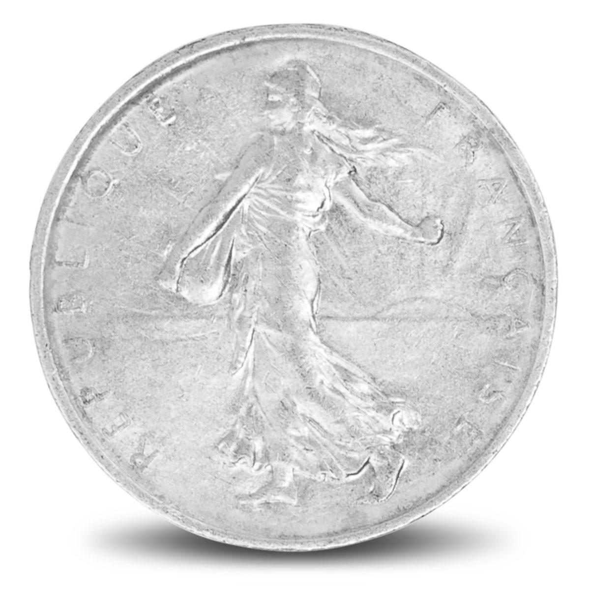 Pièces d'argent / 5 Francs Semeuse