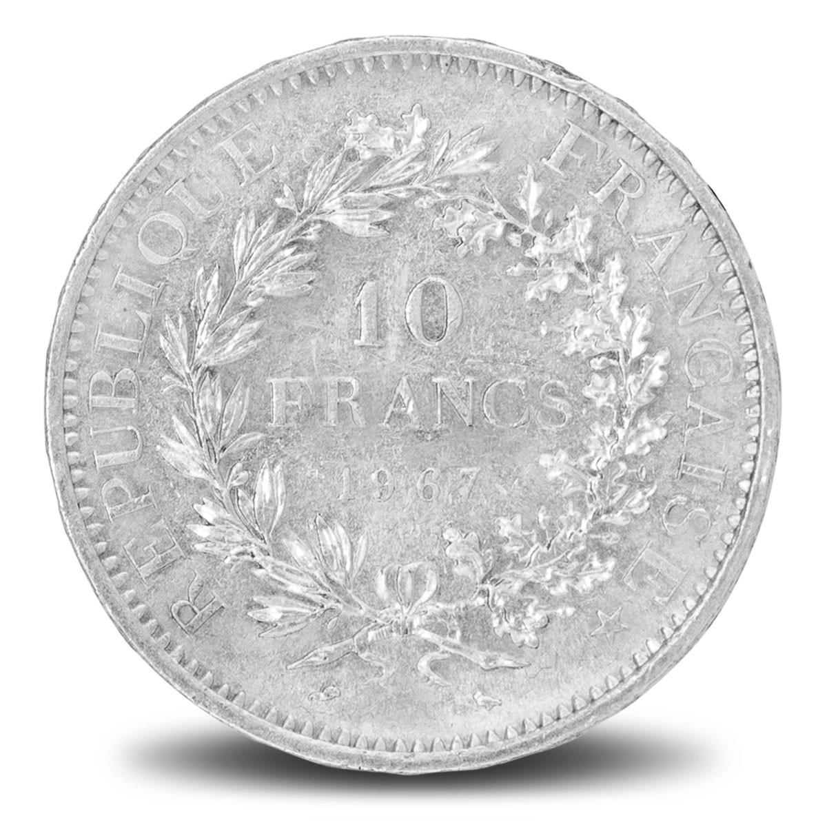 Pièces d'argent / 10 Francs Hercule