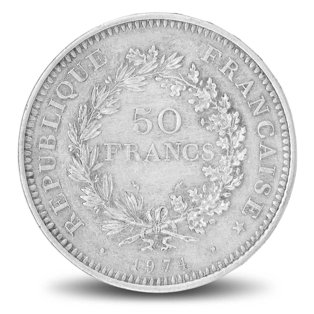 Pièces d'argent / 50 Francs Hercule