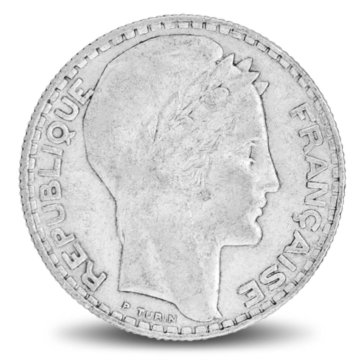 Pièces d'argent / 10 Francs Turin